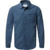 Craghoppers Kiwi Trek overhemd en blouse lange mouwen Heren Long Sleeved blauw